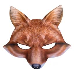 Boland Half Mask Fox Face Fancy Dress