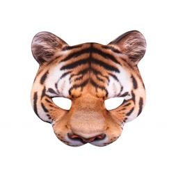 Boland Half Mask Tiger Face Fancy Dress