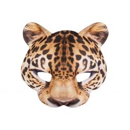 Boland Half Mask Leopard Face Fancy Dress