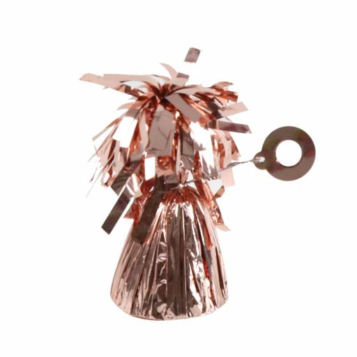 Rose Gold Foil Balloon Weights 170g