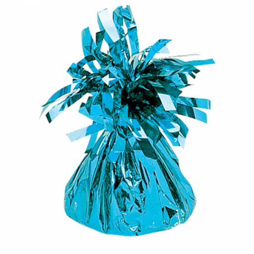 Baby Blue Foil Balloon Weights 170g