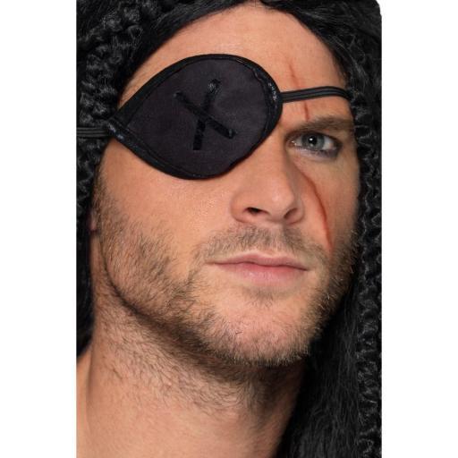 Smiffys Pirate Black Eyepatch