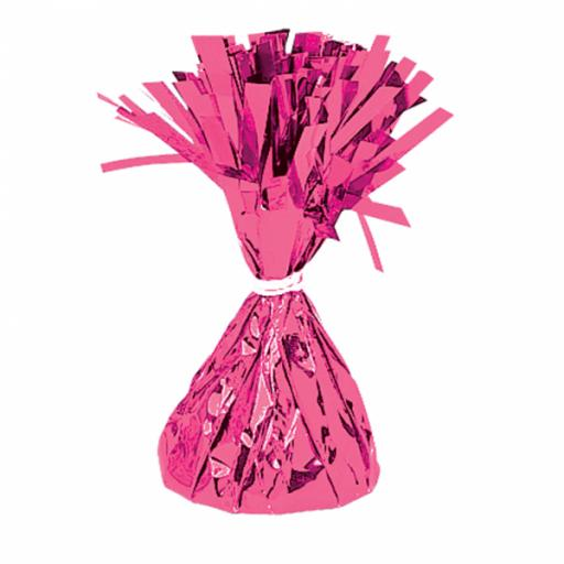 Magenta Foil Balloon Weights 170g
