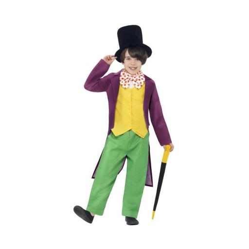 Child Willy Wonka Roald Dahl Costume - Small