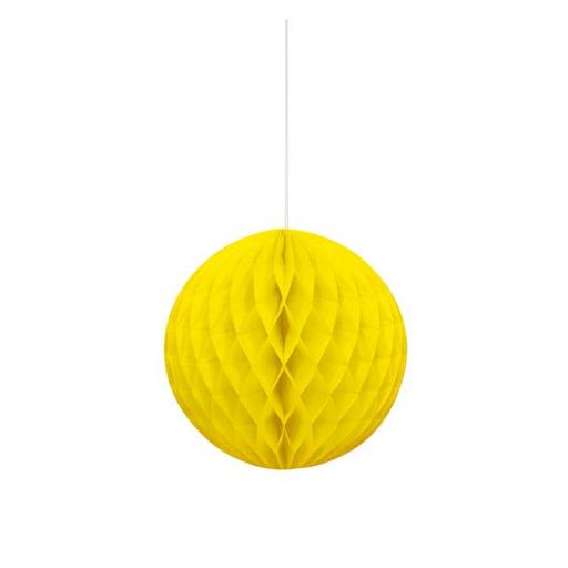Honeycomb Ball - Yellow 8 in
