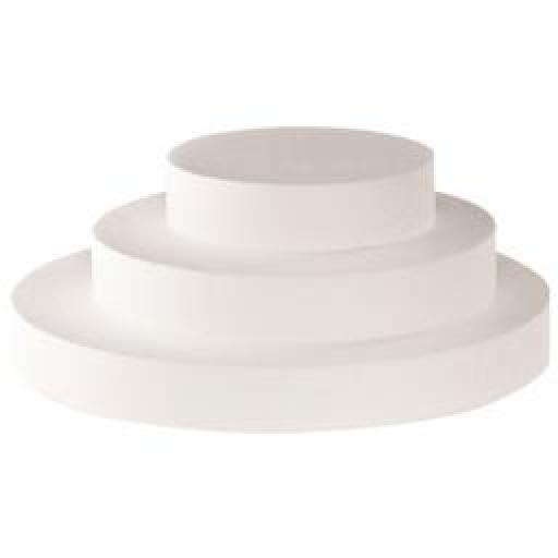 "20 x 3"" Round Cake Dummy- Straight Edge"
