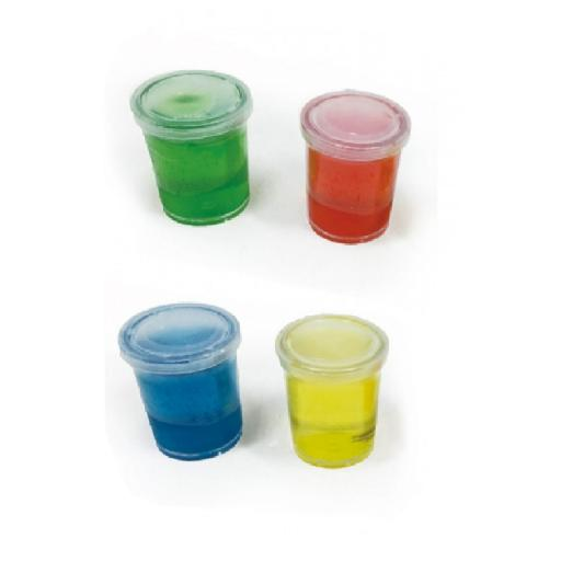 Colour Crystal Putty Slime Tubs