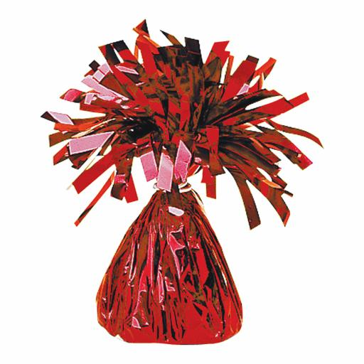 Red Foil Balloon Weights 170g