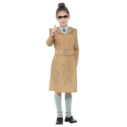 Child Miss Trunchbull Roald Dahl Costume -Medium