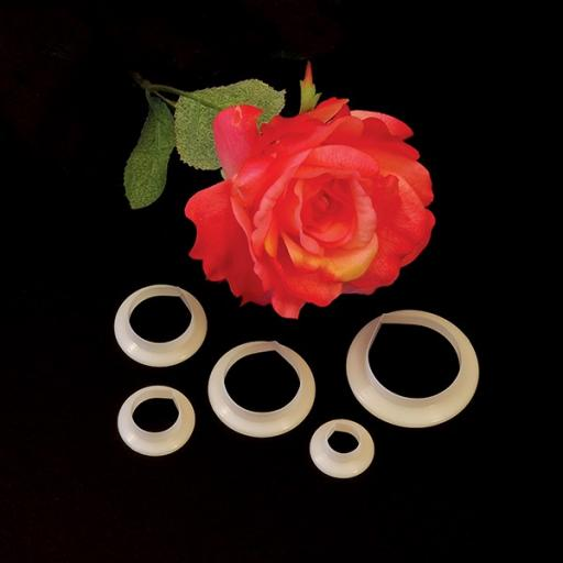 FMM Rose Petal Cutter Set Of 5