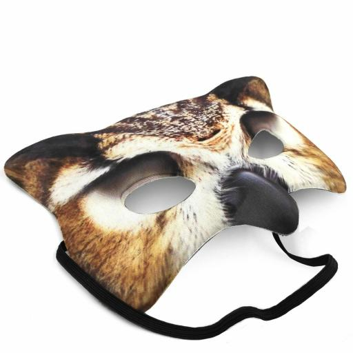 Adults Kids Boys Book Week Tawny Owl Face Mask Eyemask Carnival Band