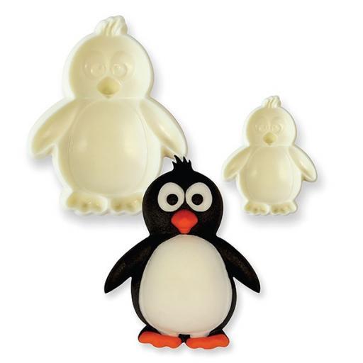 JEM Pop It Mould - Penguin - 2 Piece