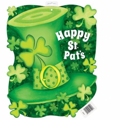 St. Patrick's Day Paper Lucky Stripes Decoration