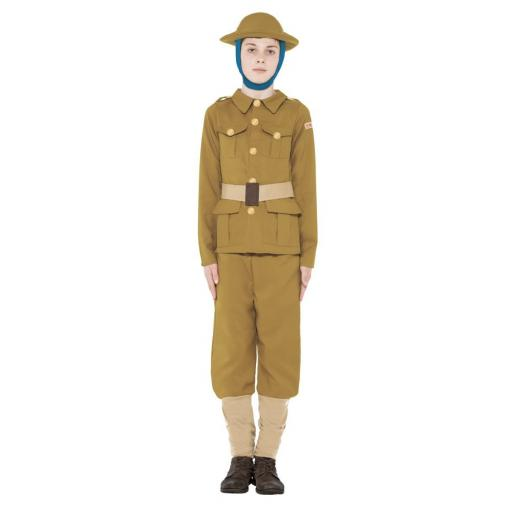 WW1 Soldier with Top,Trousers and Hat - Medium
