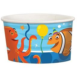 Ocean Buddies Treat Cups 8pk 8.5oz