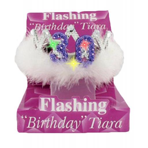 Alandra Flashing Birthday Tiara No.30