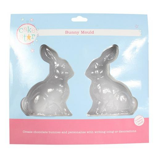 """Chocolate Bunny Mould 5x4"""""""