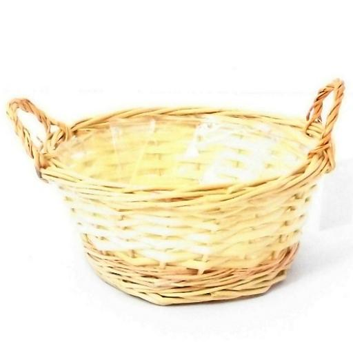 25cm Round Planting Basket With Ears