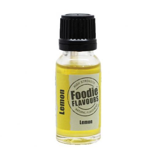 Foodie Flavours Lemon Natural Flavouring 15ml