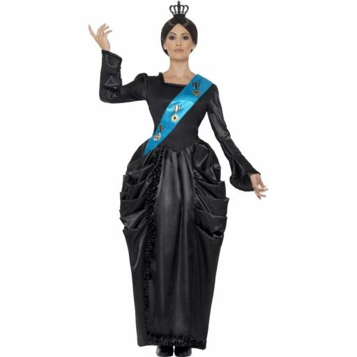 Queen Victoria Deluxe Costume Small