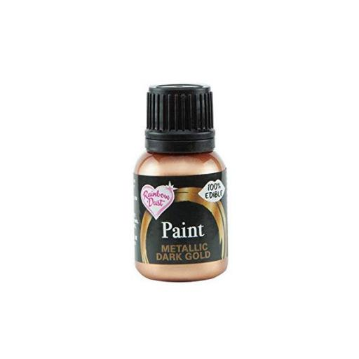 Paint Metallic Metallic Dark Gold 25g
