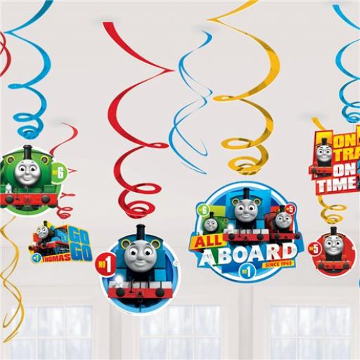 Thomas& Friend Swirl Decoration