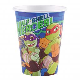 8 Cups Turtles Half Shell Heroes