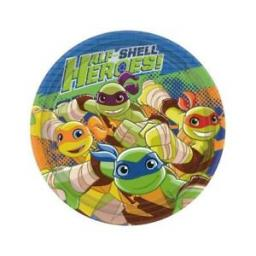 18cm Turtles Half Shell Heroes Plates