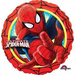 Ultimate Spider-Man Action Circle Standard Foil Balloons