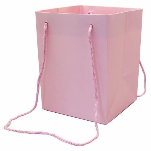 Pink Hand Tie Bag (19x25cm)