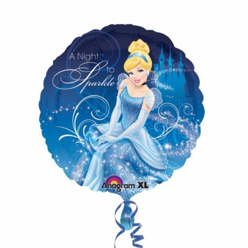 Cinderella Non Message Standard Foil Balloons