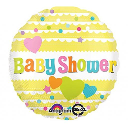Baby Shower Foil Balloon 17in