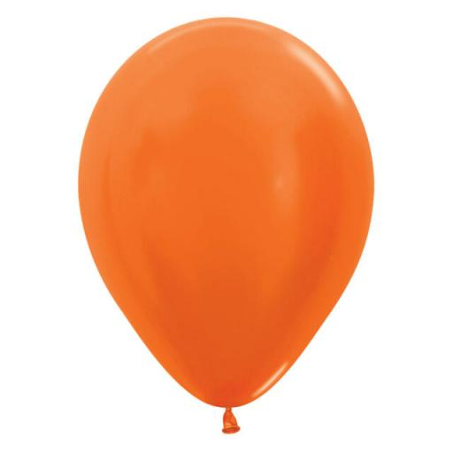 Bright Orange Metallic Latex Balloons.jpg