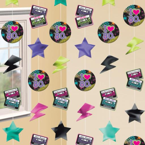 Totally 80s Strings Decorations - 6