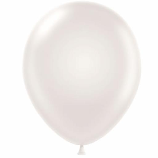 5 inch Pearl Metallic Latex Balloons 100pk