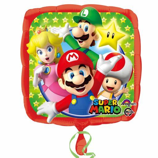 Super Mario Standard Foil Balloons