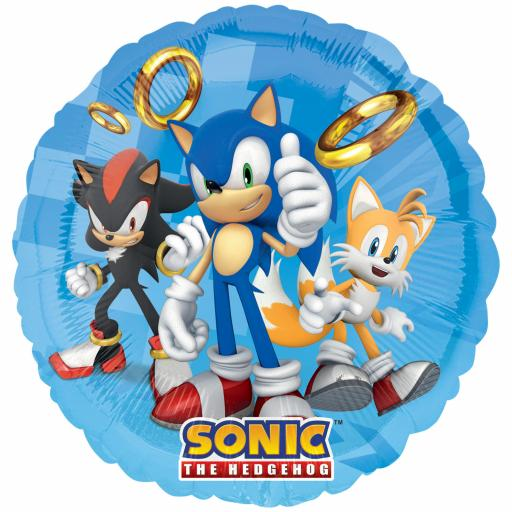 Sonic the Hedgehog Standard Foil Balloons