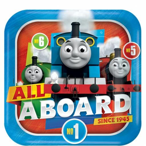 Thomas the Tank Engine Paper Plate - 23cm