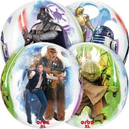16″ Star Wars – 4 Sided Design Orbz Balloon