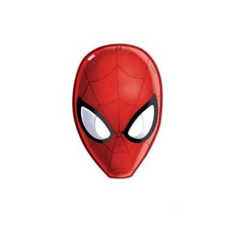 6 Spider- man Paper Mask
