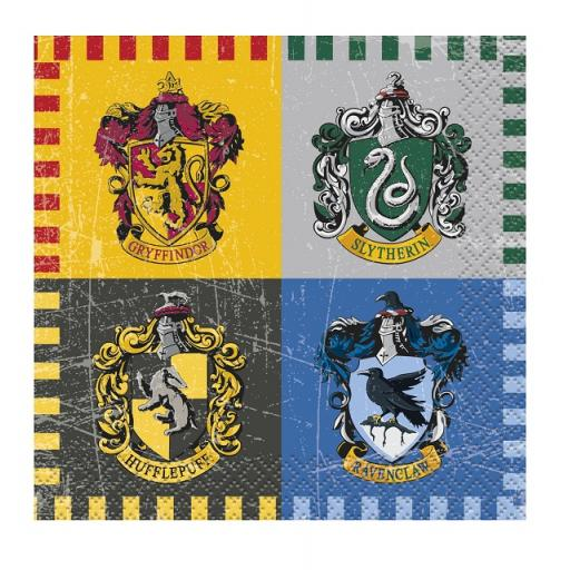 Harry Potter Beverage Napkins 2ply 16ct