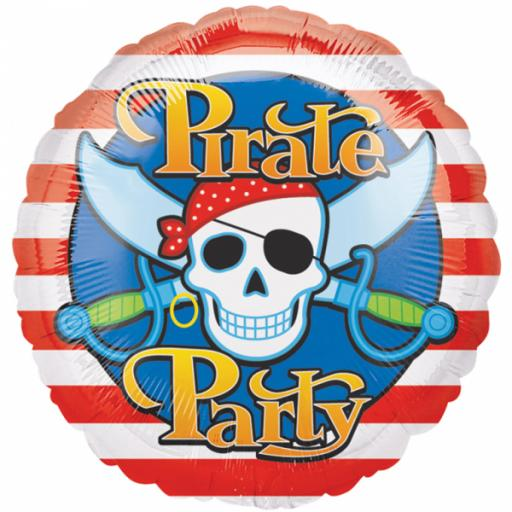 "Pirates Party Standards 17"" Foil Balloons"