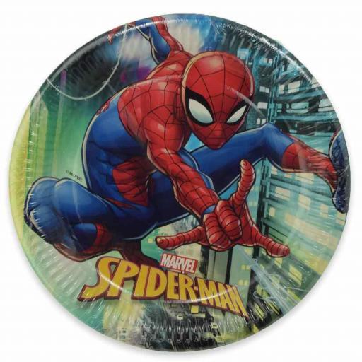 Spider Man Paper Plates 23cm 8pk