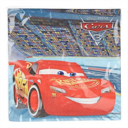 Disney Cars 2Ply Napkin Set of 20