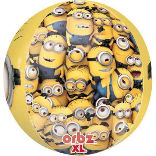 """Orbz Despicable Me Minion 15"""" x 16"""" Foil Baloon"""