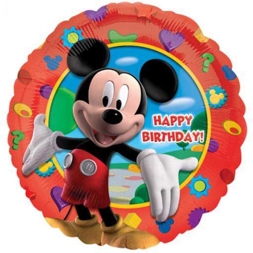 "Mickey's Clubhouse Happy Birthday Standard 17"" Foil Balloons"