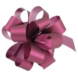 20 Burgundy Pull Bows (50mm)