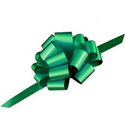 20 Cool Green Pull Bows (50mm)