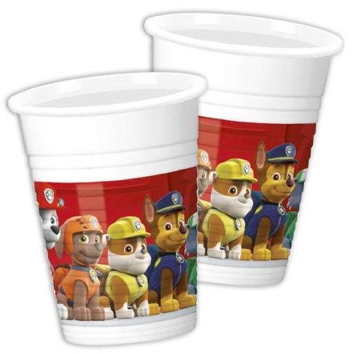 8 plastic cup Paw Patrol 200m