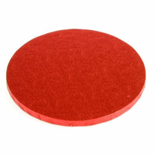 Round Red 08 inch Drumm
